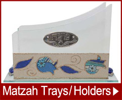 Matzah Trays and Holders