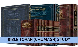 Bible Torah (Chumash) Study Versions