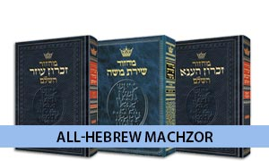 All Hebrew Machzor