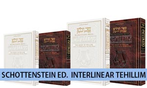 Schottenstein Edition Interlinear Tehillim