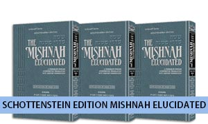 Schottenstein Edition Mishnah Elucidated