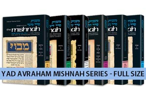 English Yad Avraham Mishnah - Individual Volumes
