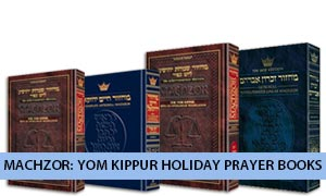 Machzor: Yom Kippur Holiday Prayer Books