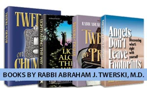 Books by Rabbi Abraham J. Twerski, M.D.