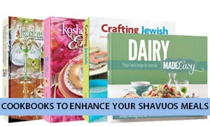 Cookbooks to enhance your Shavuos meals