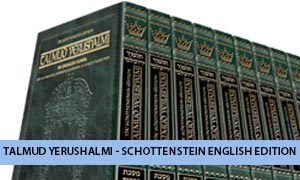 Talmud Yerushalmi - Schottenstein English Edition
