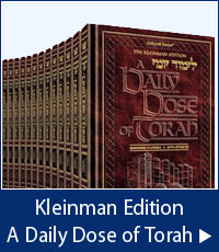 Kleinman Edition A Daily Dose of Torah