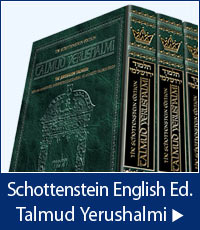 Schottenstein English Edition Talmud Yerushalmi