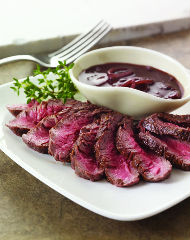 Hanger Steak With Shallots Recipe — Dishmaps